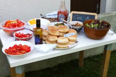 barbecue fête de rentrée des classes