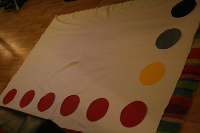 jeu de Twister DIY