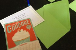 anniversaire multicolore gourmand diy invitation