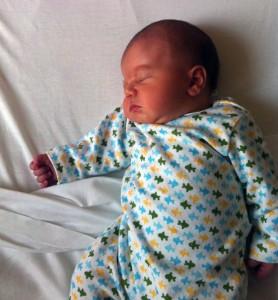 bébé Mlle Violette