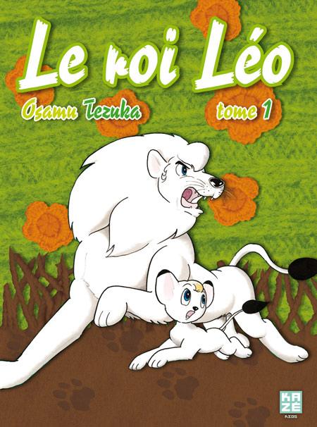 manga Le Roi Léo Osamu Tezuka