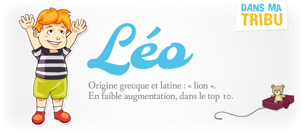 prénom Léo