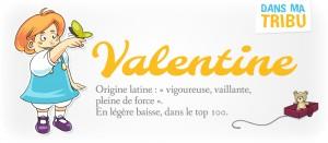 prénom Valentine