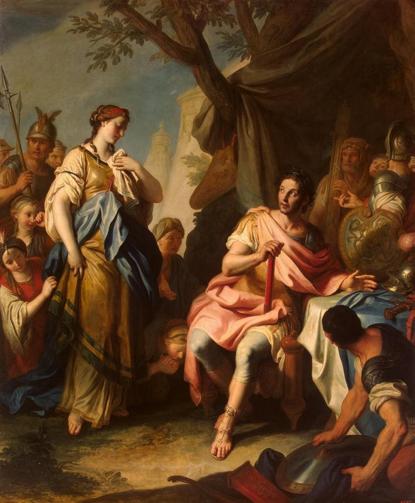 Pietro Antonio Rotari - Alexandre le Grand et Roxane - 1756
