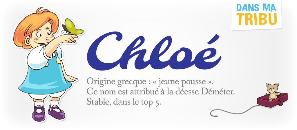 prénom Chloé