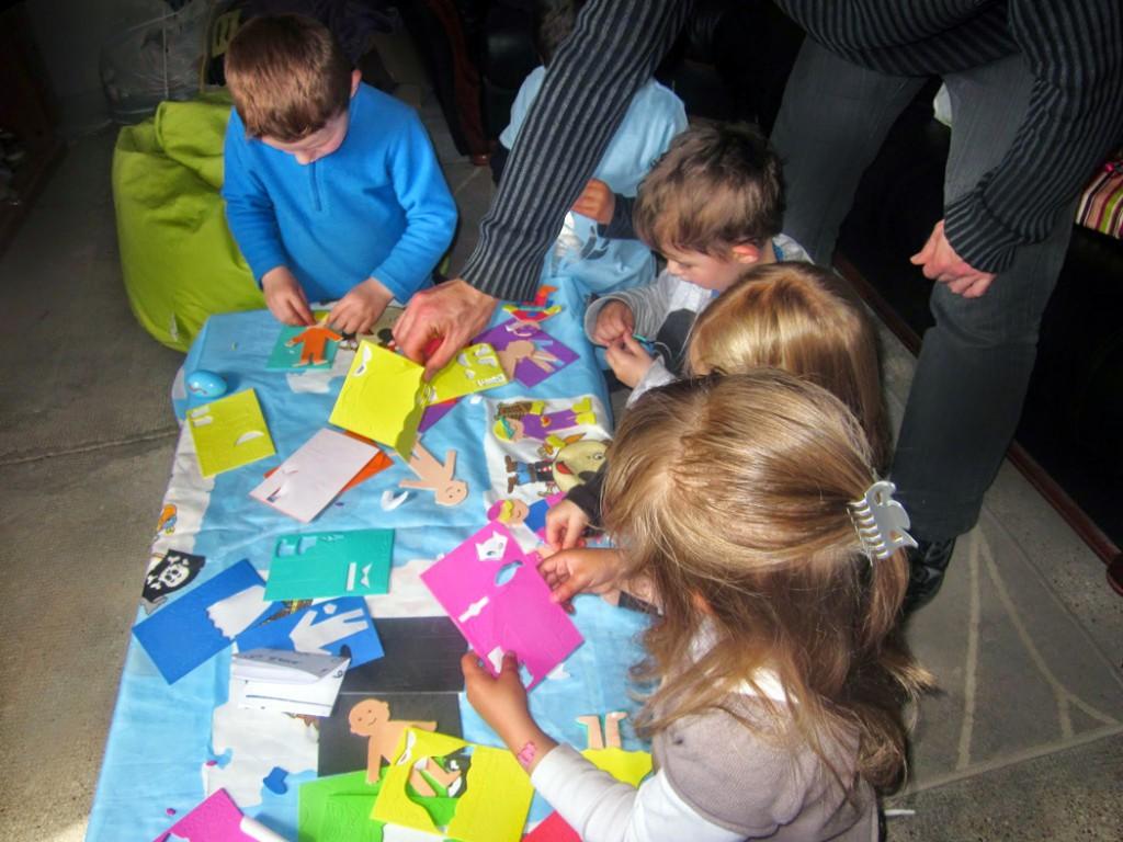 activité créative anniversaire