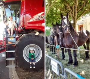 comice agricole avec des enfants