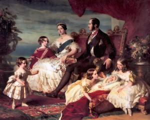 famille royale anglaise en 1846 par Franz Xaver Winterhalter