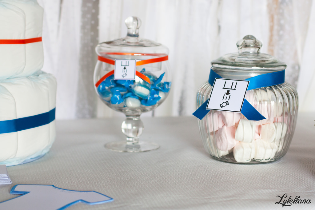 Baby Shower Portal candy bar