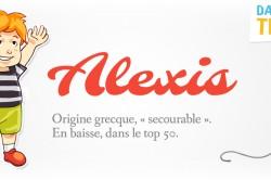 prénom Alexis