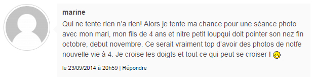 commentaire gagnant coucours Photographie Tout Court