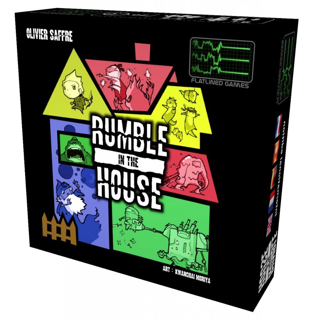 jeu de société avec enfants Rumble in the House