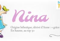 prénom Nina