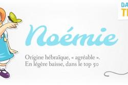 prénom Noémie