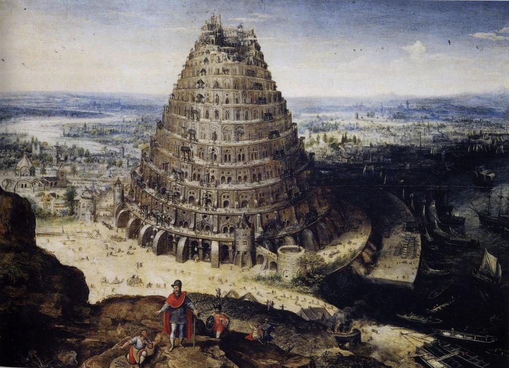 Tour de babel - Lucas van Valckenborch