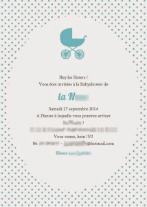 invitation baby shower