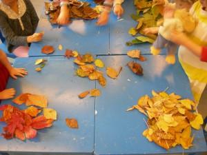 trier les feuilles