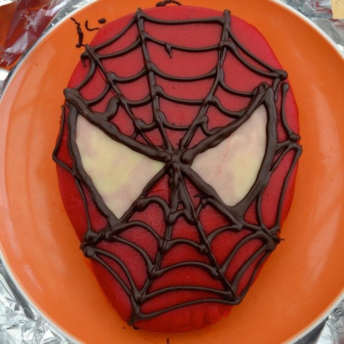 Recette : un gâteau d'anniversaire Spiderman