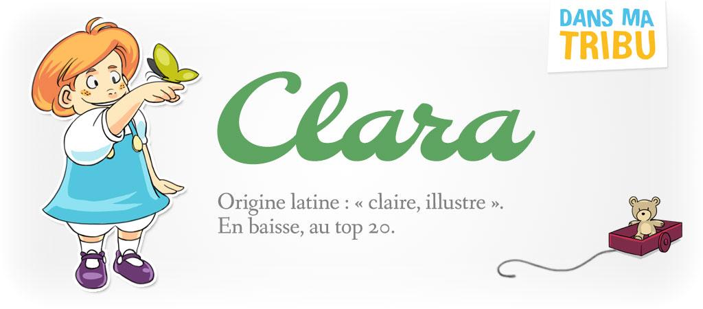 prénom Clara