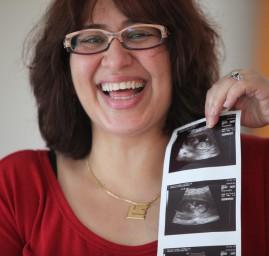 annonce de grossesse échographie