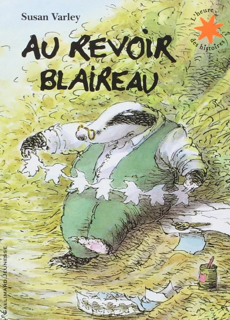 livre pour enfant sur le deuil - Au revoir Blaireau