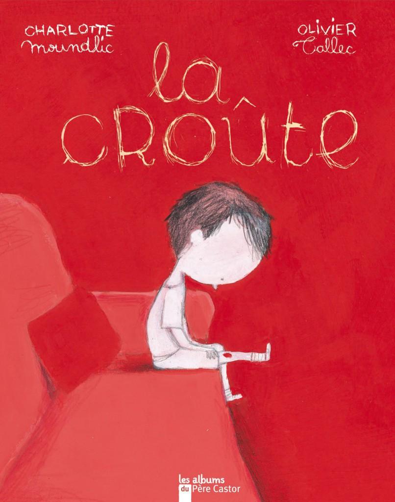 livre pour enfant sur le deuil - La croûte
