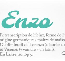prénom Enzo