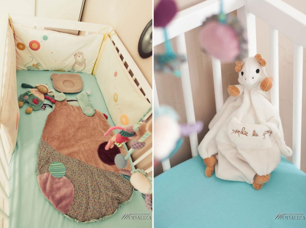 déco chambre lit bébé étoile nuage bleu Moulin Roty