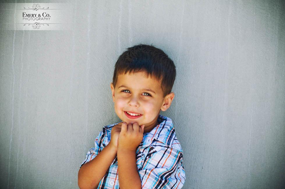 portrait petit garçon