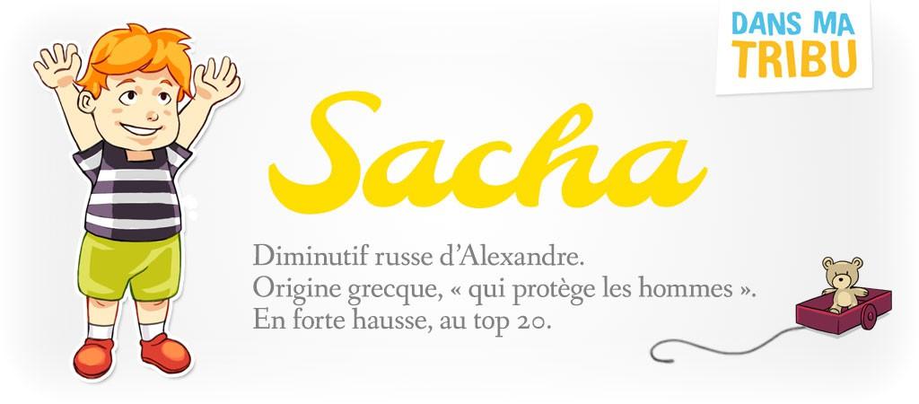 prénom Sacha