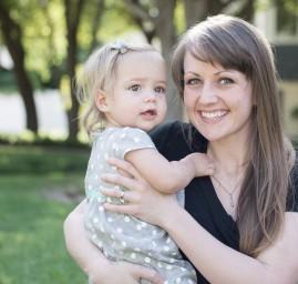 photo mère et petite fille