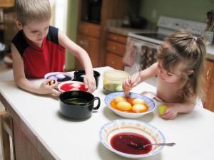 activité de Pâques avec les enfants
