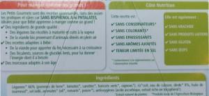 ingrédients petit pot bio - bébé allergique