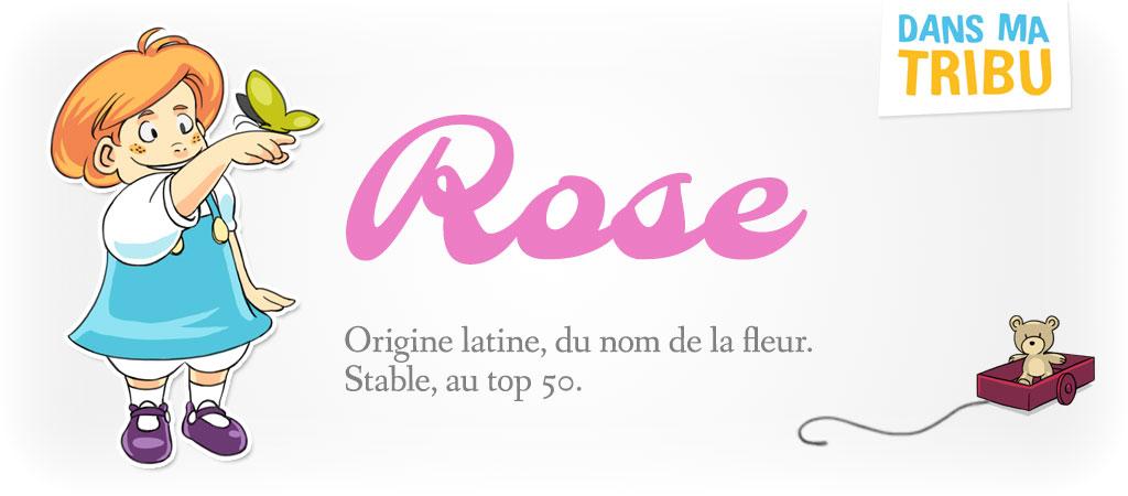 prénom Rose