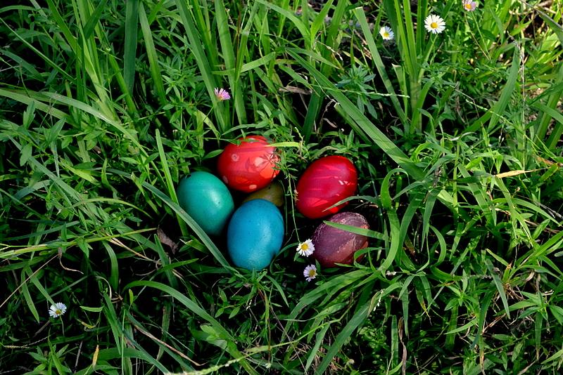 chasse aux œufs de Pâques