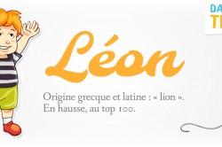 prénom Léon
