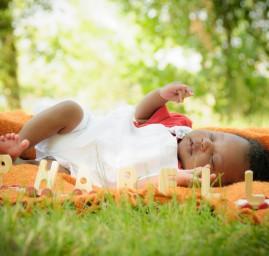 photo bébé petit train prénom