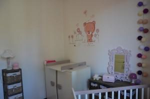 Chambre bébé commode