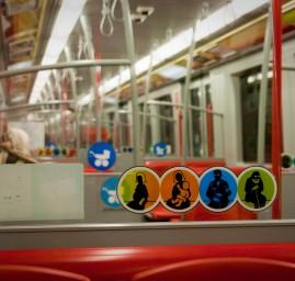 Etre enceinte dans le métro