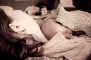 Maman et nouveau-né