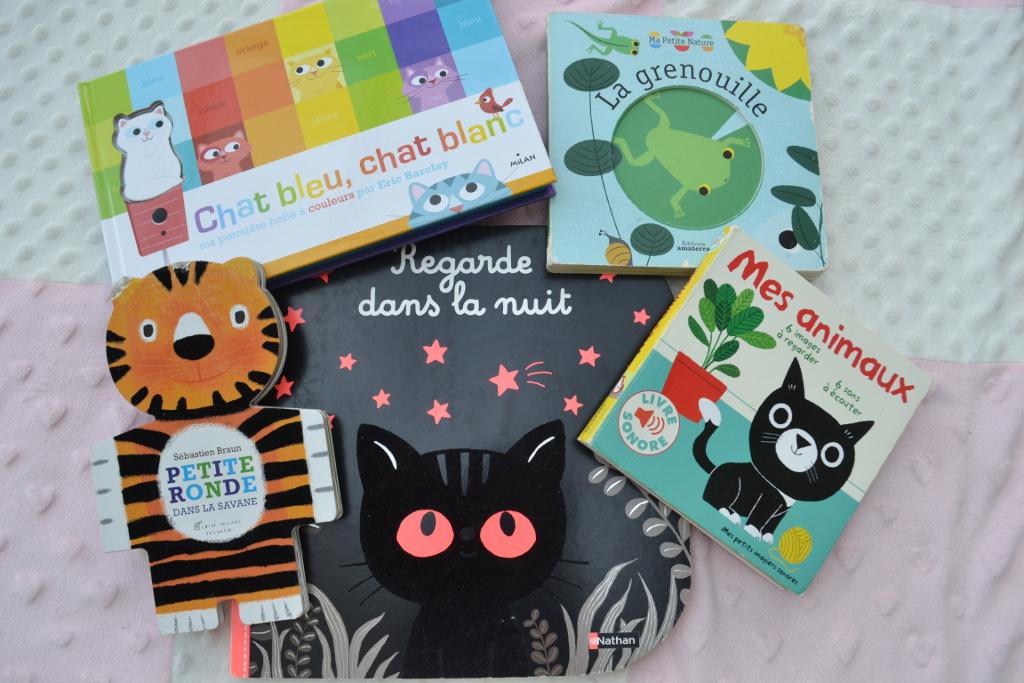Sélection de livres carton pour bébé