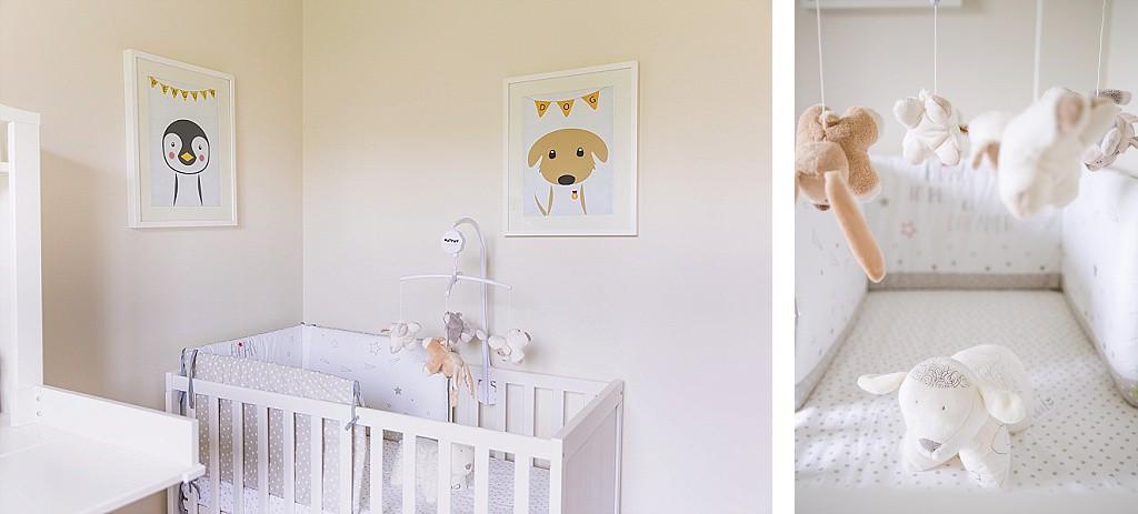 Séance photo chambre bébé