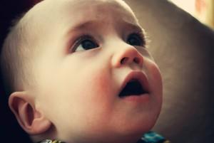 Bébé choqué