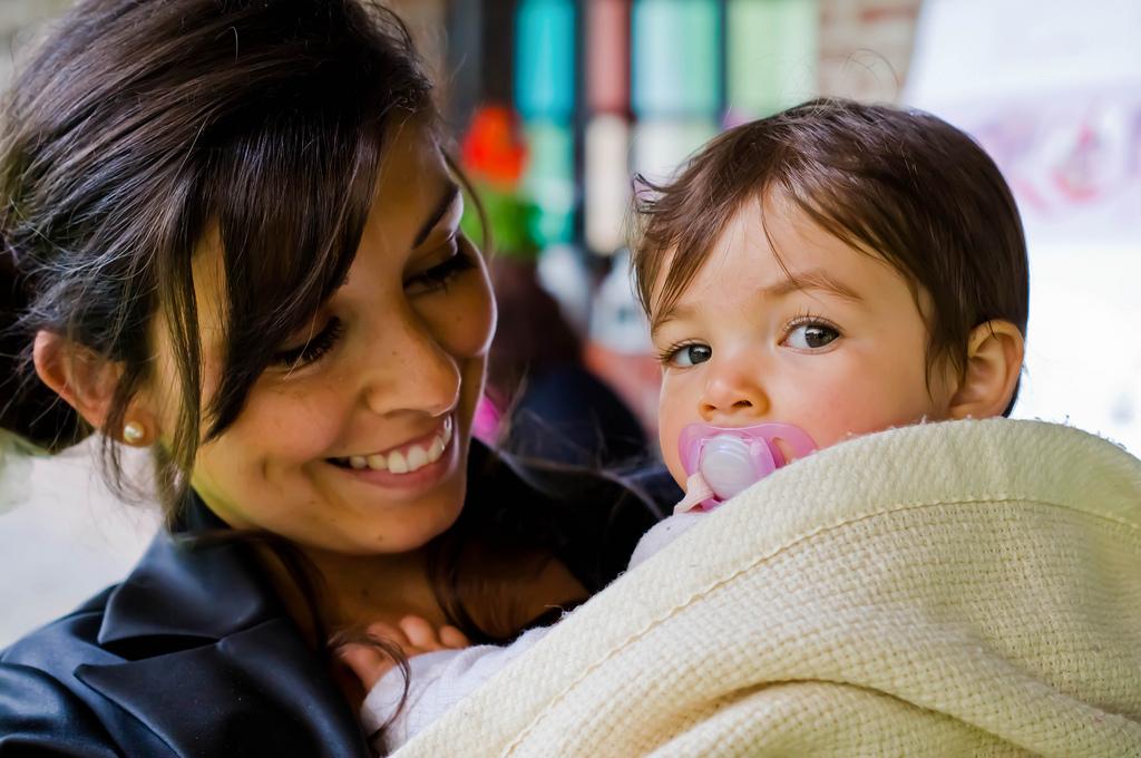 Le bonheur d'avoir un enfant
