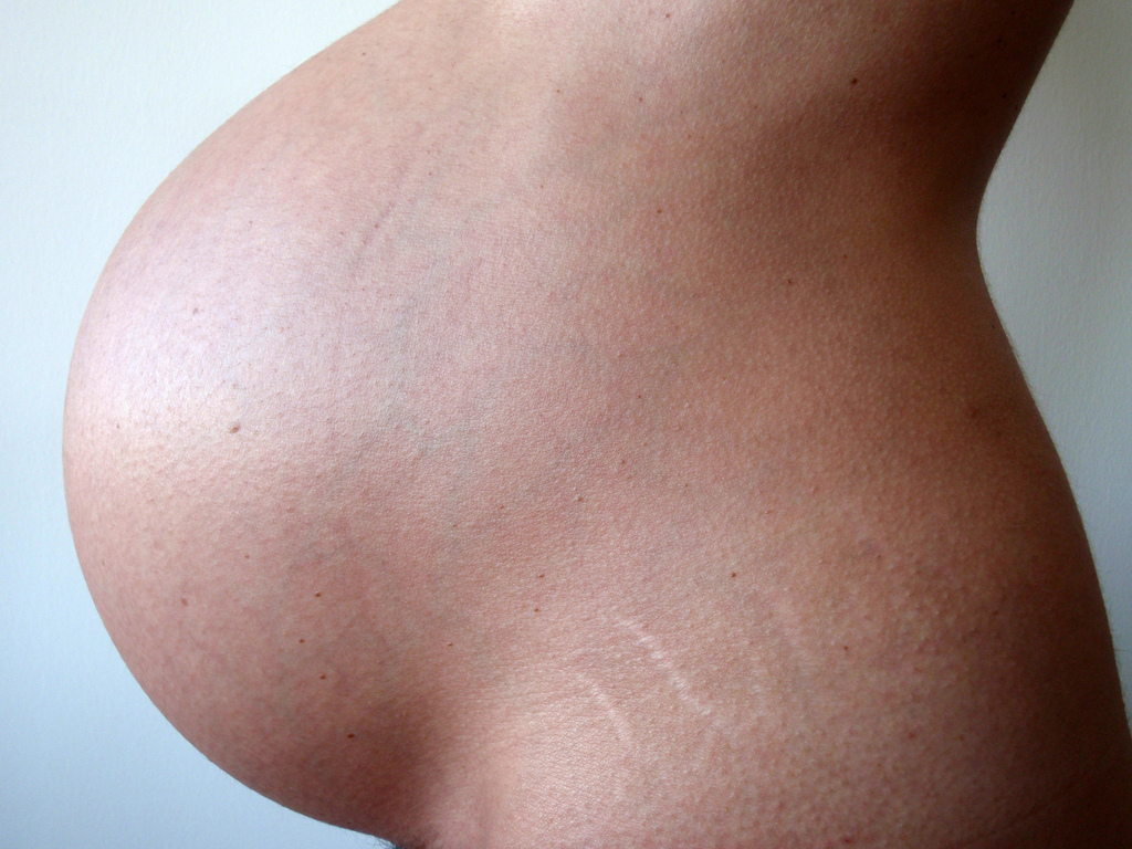 Changements du corps pendant la grossesse