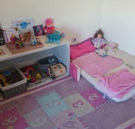 Lit au sol Montessori