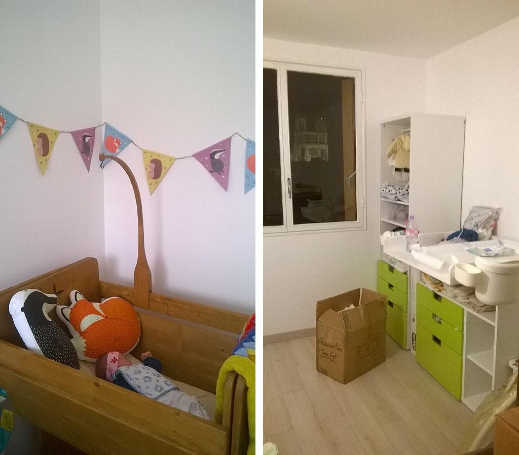 Chambre de bébé meubles