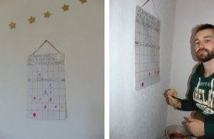 baby shower calendrier naissance