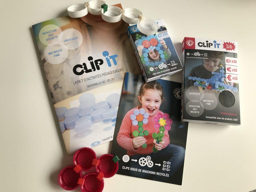 J'ai testé pour toi : le jeu Clip It pour recycler les bouchons en plastique !